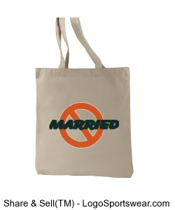 NOT-MARRIED Everyday Tote Design Zoom
