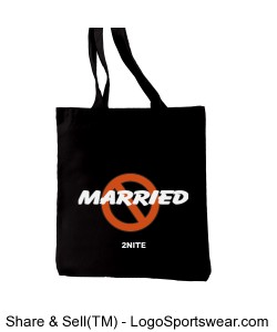 NOT MARRIED Everyday Tote Design Zoom