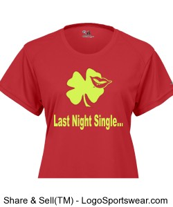Last Night Single(Red) Design Zoom
